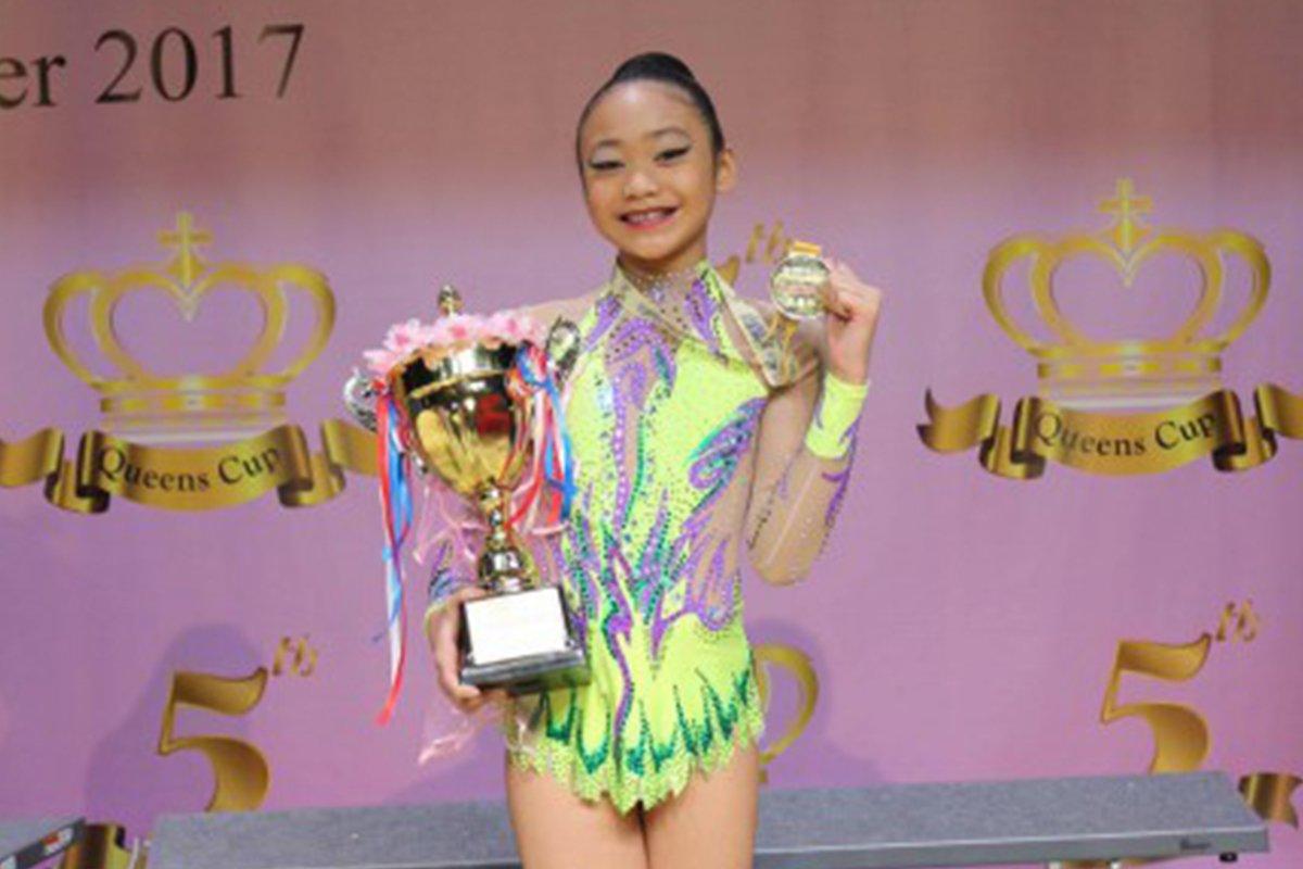 Photo of 11-year-old Pinay Dominates Hong Kong International Rhythmic Gymnastics