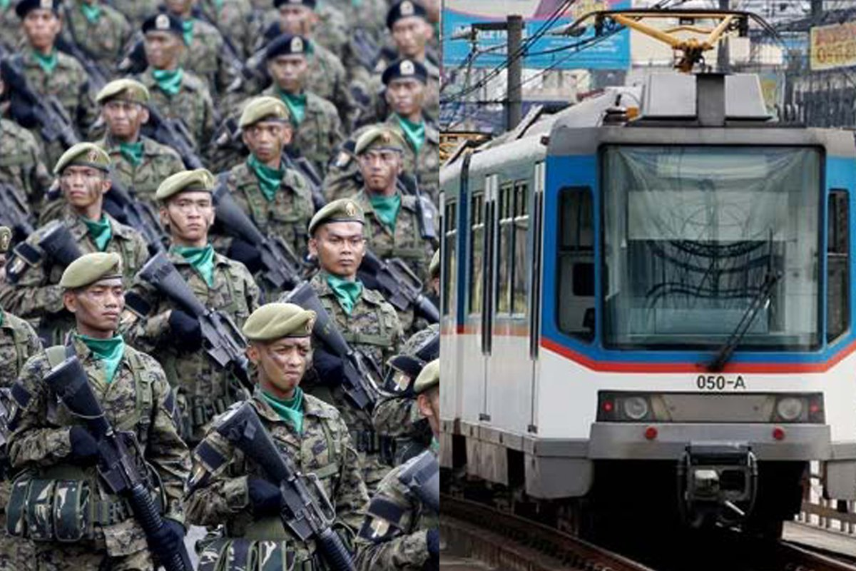 Photo of All Active Military Personnel to Get Free MRT-3 Rides for One Year
