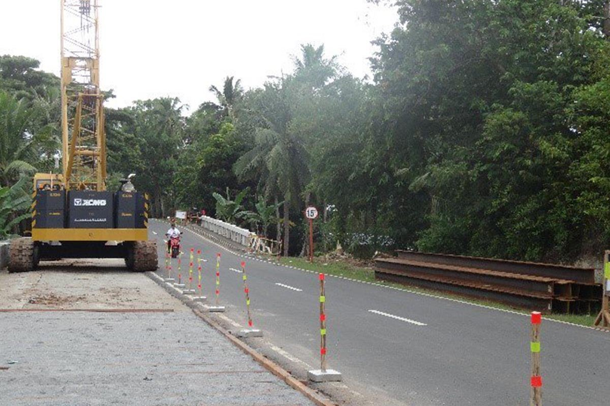 DPWH: Widening Project of Looc Bridge in Biliran Now Underway