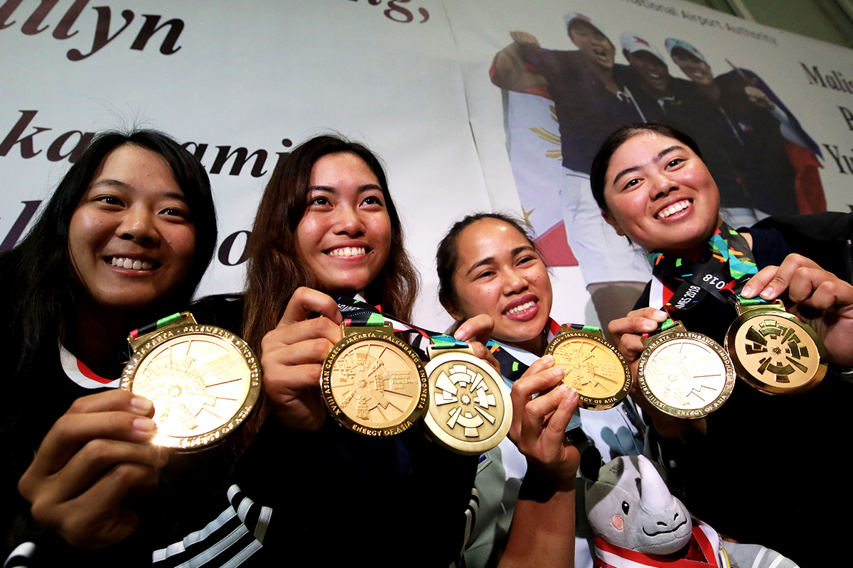 Photo of 2018: The year of the Pinay athlete