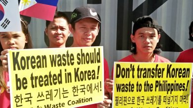 Photo of First Batch of Trash Illegally Brought to PH Returns to Korea