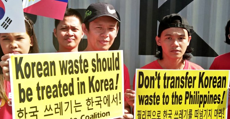 First Batch of Trash Illegally Brought to PH Returns to Korea