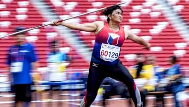 Photo of 67-year-old 'Queen of PH Javelin' bags 4 gold medals at Singapore Masters Athletics