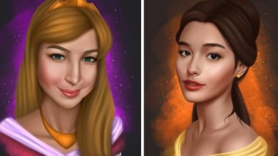 Photo of Artist reimagines Filipino actresses as Disney princesses