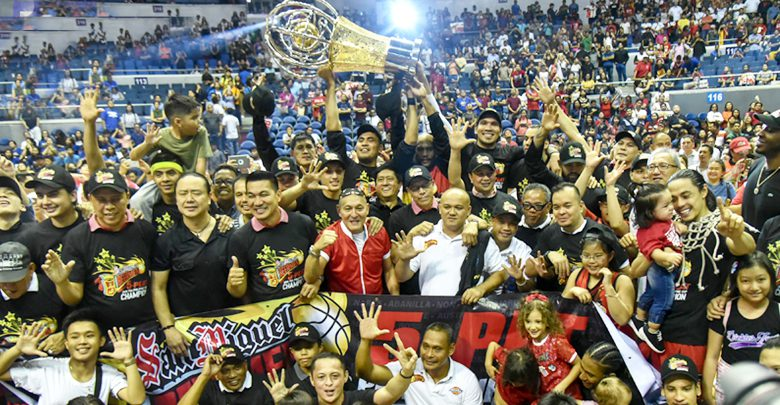 San Miguel wins 5th straight PHL Cup Championship