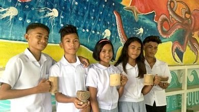Photo of Plastic-Free School Canteen in Negros High School