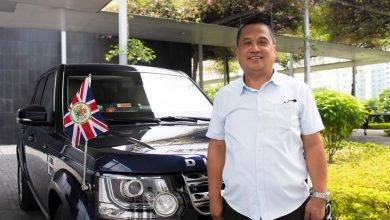 Photo of Queen Elizabeth Awards Filipino Driver British Empire Medal