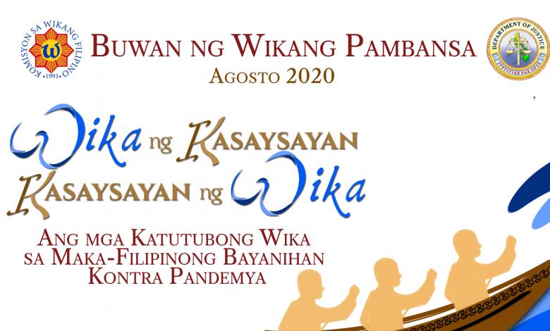 Buwan ng Wika: Ang Papel ng Wika sa Pag-tugon sa Pandemya