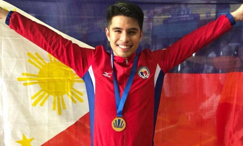 Typhoon James: De Los Santos storms to top of Karate rankings