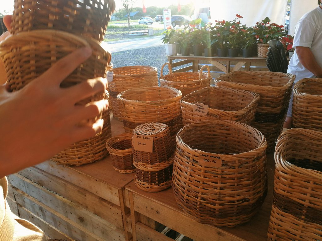 Find rattan accents made by local artisans for your home.